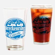 Breckenridge Old Orange Drinking Glass