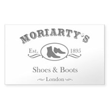 Moriarty's Shoe Shop Decal