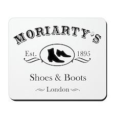 Moriarty's Shoe Shop Mousepad