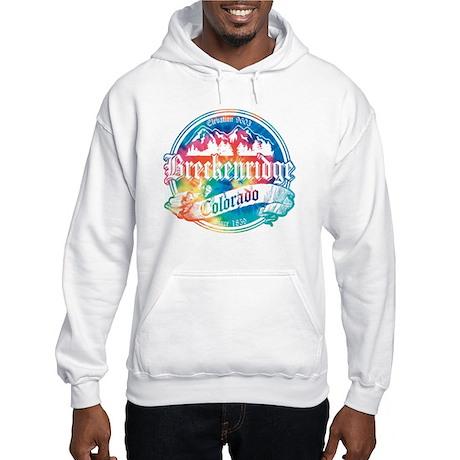 Breckenridge Old Tie Dye Hooded Sweatshirt