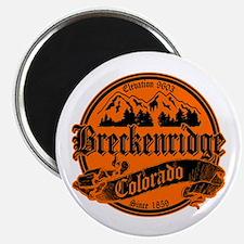 Breckenridge Old Black & Orange Magnet