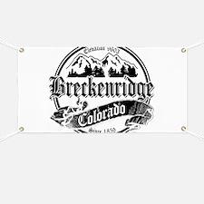 Breckenridge Old Black & White Banner