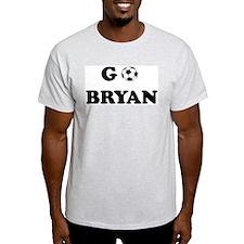 GO BRYAN Ash Grey T-Shirt