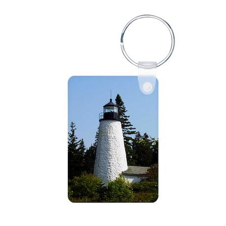 Dyce's Head Light Aluminum Photo Keychain