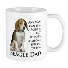 Beagle Dad Small Mug