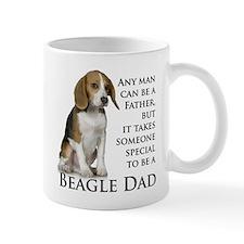 Beagle Dad Small Mugs