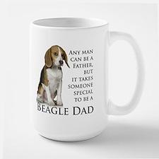 Beagle Dad Ceramic Mugs