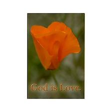 Poppy Magnet, God Is Love Magnets