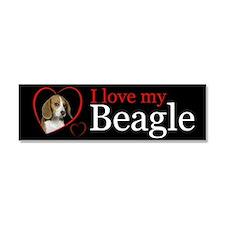 Beagle Car Magnet 10 x 3