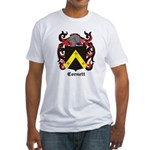 Cornett Coat of Arms Fitted T-Shirt