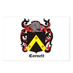 Cornett Coat of Arms Postcards (Package of 8)
