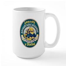 Czech Beer Label 10 Mug