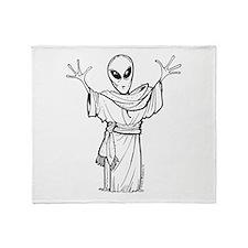 Ancient Alien Throw Blanket