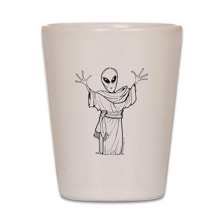 Ancient Alien Shot Glass