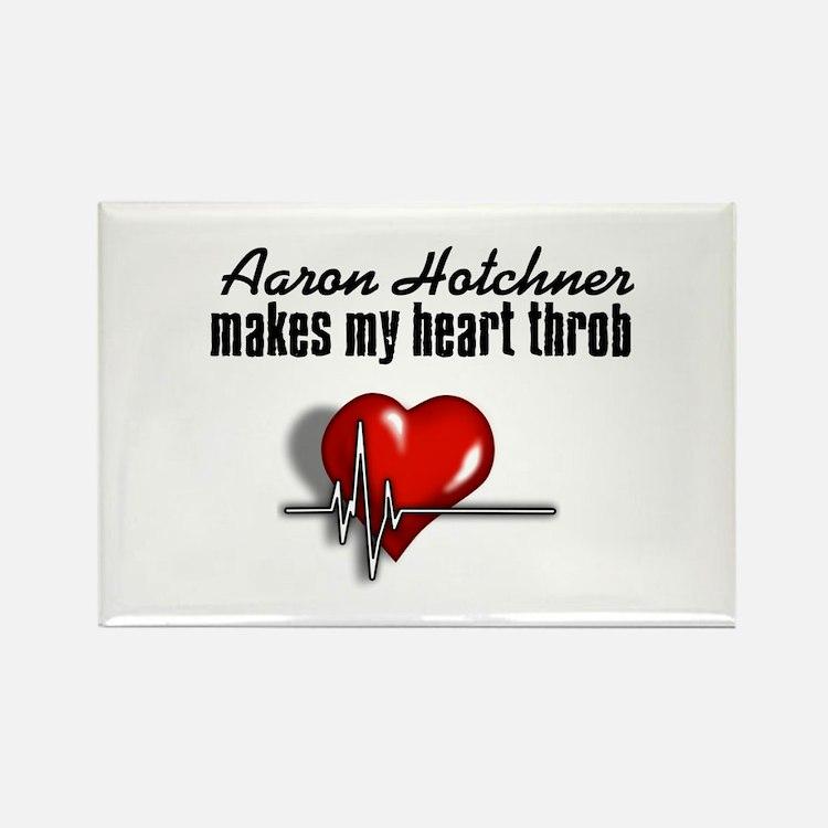 Aaron Hotchner makes my heart throb Rectangle Magn