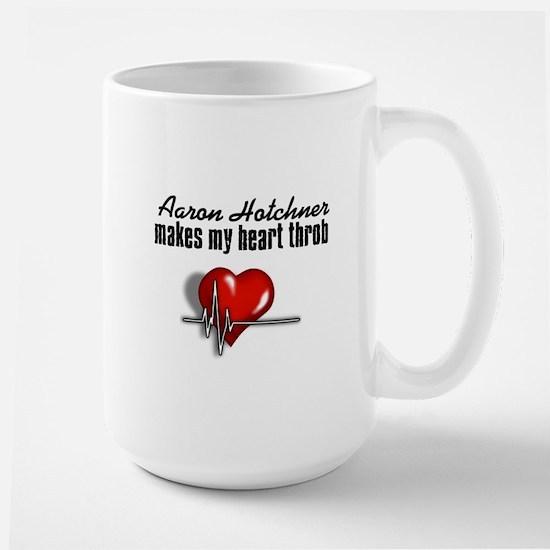 Aaron Hotchner makes my heart throb Large Mug