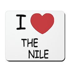I heart the nile Mousepad