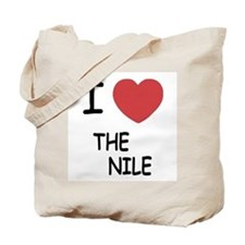 I heart the nile Tote Bag