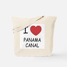 I heart panama canal Tote Bag