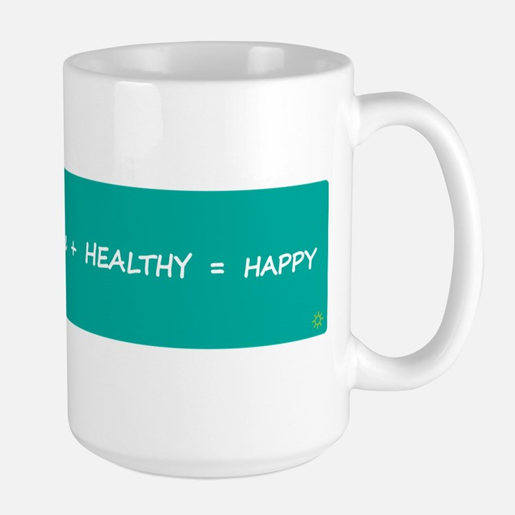 HAPPY MATH > large mug