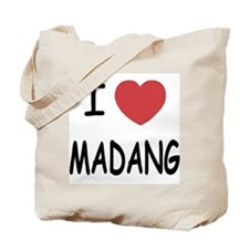 I heart madang Tote Bag