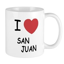 I heart san juan Mug