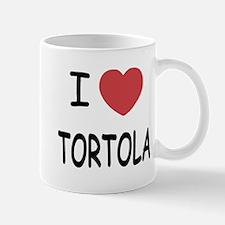 I heart tortola Mug