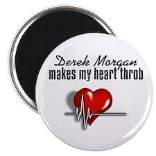 Derek Morgan makes my heart throb Magnet
