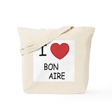 I heart bonaire Tote Bag