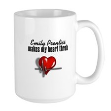 Emily Prentiss makes my heart throb Mug