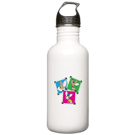 Chihuahua Photographs Stainless Water Bottle 1.0L