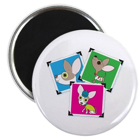 """Chihuahua Photographs 2.25"""" Magnet (10 pack)"""