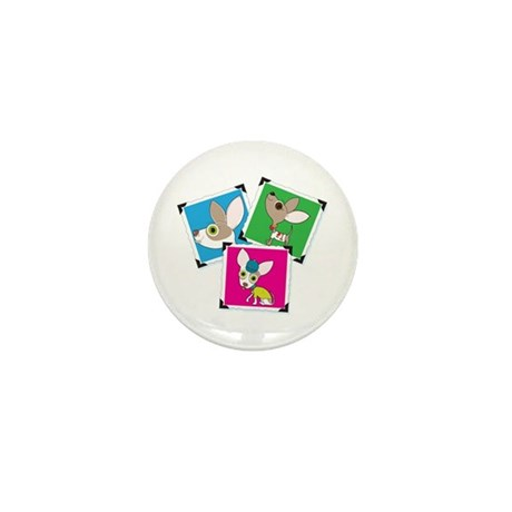 Chihuahua Photographs Mini Button (100 pack)