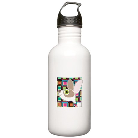 Chihuahua Portrait Stainless Water Bottle 1.0L