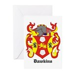 Dawkins Coat of Arms Greeting Cards (Pk of 10)