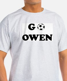 Go OWEN Ash Grey T-Shirt