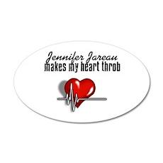 Jennifer Jareau makes my heart throb 22x14 Oval Wa