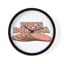 Pious Bologna Wall Clock