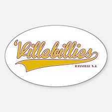 'Villebillies Sticker (Oval)