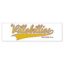 'Villebillies Bumper Sticker