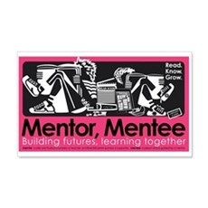 Mentor, Mentee 22x14 Wall Peel