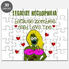 Necrophilia Zombie Love Puzzle
