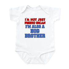 Not Just Puerto Rican Big Bro Infant Bodysuit