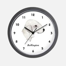 Bedlington Terrier Wall Clock
