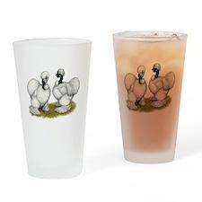Showgirl Bantams Drinking Glass