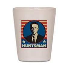 Retro Huntsman Shot Glass
