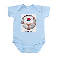 Korea soccer Infant Creeper