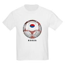 Korea soccer Kids T-Shirt