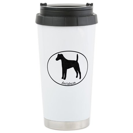 Smooth Fox Terrier Stainless Steel Travel Mug