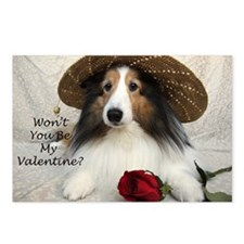 Won't you be my Valentine Postcards (Package of 8)